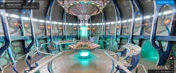 TARDIS Streetview